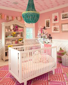 girlie nursery.