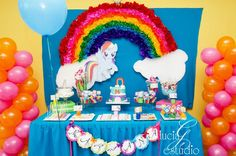 My Little Pony Party #mylittlepony #party