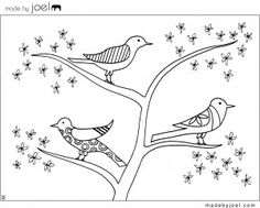 color sheet, colouring sheets, colouring pages, doodl, coloriag enfant, coloring sheets, birds, coloring books, printabl