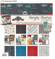 Hey Pop 12x12 Simple Set - a mini themed collection by Simple Stories   #simplestories  #simplesets