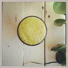 Super Alkaline, Super Green Juice~ Celery, Spinach, Bok Choy, Tumeric.