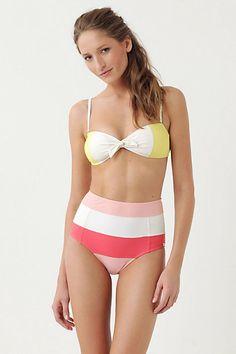 bright retro bikini