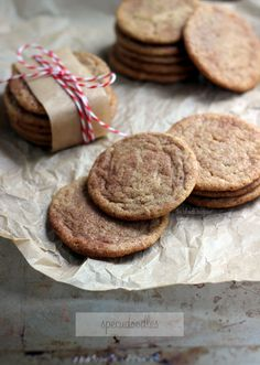 Specudoodles (Snickerdoodles made with Speculoos/Cookie Butter) | The Blonde Buckeye