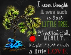 11x14 A Charlie Brown Christmas Quote Printable by JennovaDesigns, $8.50