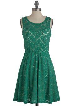 Eeeek! Topiary Artist Dress, #ModCloth