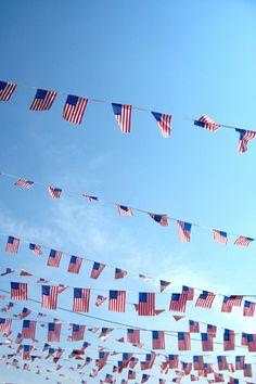 ~American Flags!