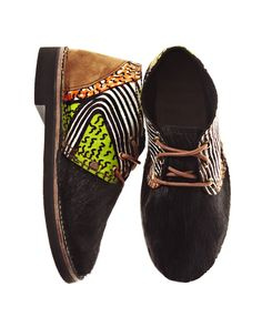 African Prints in Fashion: Awesomeness for your Feet: Brother Vellies