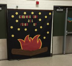 Love this display from Morris Elementary in Cypress, CA!