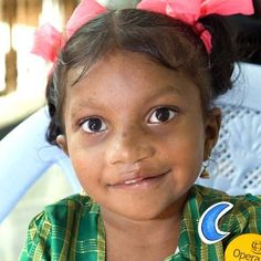 Ammulu was born with a severe facial deformity that made eating and drinking difficult.   http://www.operationsmile.org.uk/testimonials/smile_show.phtml?id=12