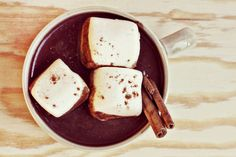 Aztec Hot Chocolate: Spice it up. #Beverage #Hot_Chocolate #Mexican