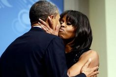 1st Lady Michelle Obama & President Barack Obama...Inauguration 2013