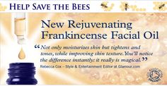 New Rejuvenating Frankincense Facial Oil~~~~It really is magic♥