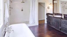 connecticut farm, tub, bathroom sinks