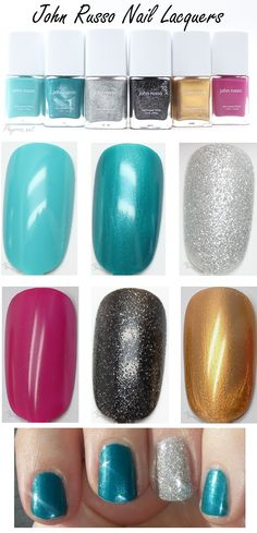 John Russo Nail Lacquers Review and swatches