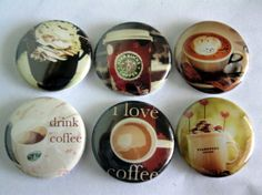 $7.00 coffee magnets. These magnets are super cute and would make great stocking stuffers!