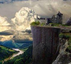 Abandoned castle...heartstopping photo
