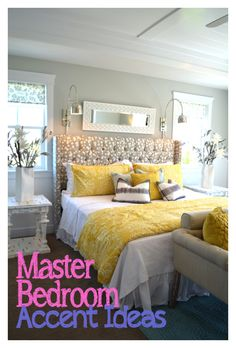 Master Bedroom Accent Ideas