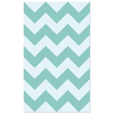 Chevron Wall Tile Aqua 24x32 by Artisan Wall Tiles