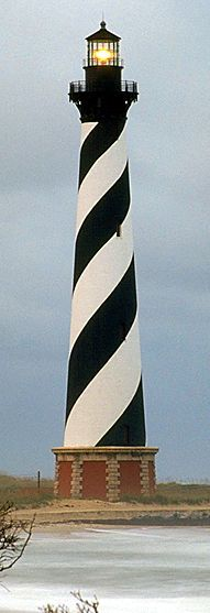 The Hatteras lighthouse