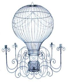 belle maison: Chandelier in the Garden...So whimsicle and perfect for outdoors.