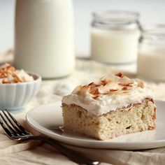 3 Milk Coconut Cake - Home - Pastry Affair