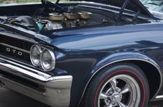 John's 1964 GTO with Restored Tri-Power and new Redline Tires from Diamondback