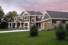 Craftsman House Plan chp-33440 at COOLhouseplans.com