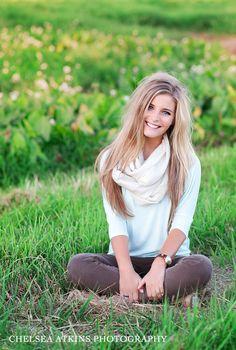 Pretty Senior Photo