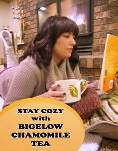 Get Cozy with Bigelow Chamomile Tea #AmericasTea #cbias #shop