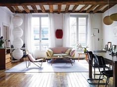 Steal This Look: Vanessa Bruno's Loft in Paris