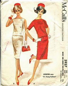 McCalls 5937 1960s