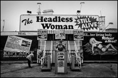 Old Fashioned freak shows