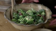 Cold Broccoli and Bacon Salad