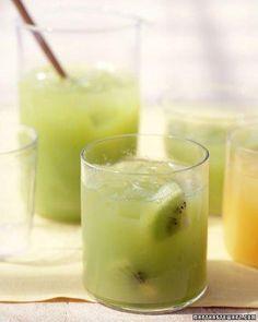 Fresh Kiwi-Grape Juice Recipe