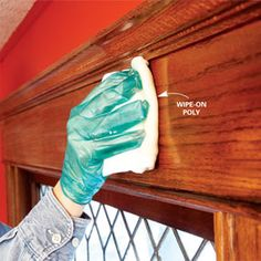 craft, cleaning wood trim, decorating ideas, front doors, old wood, improv, hous, varnish woodwork, diy projects