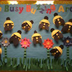 Summer Bulletin Board Idea bulletin board, preschool bee crafts