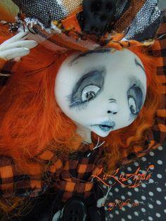 Halloween Art Doll Marcelle