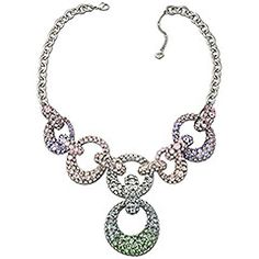 #SS12 Collection: the 60s-inspired #Swarovski Rarely Necklace