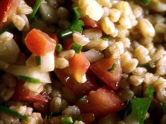 Farro Salad with Tomatoes & Herbs