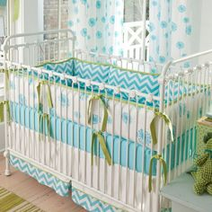 dandelion crib bedding