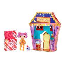 "Mini Lalaloopsy Sew Sleepy Doll - Peanut Big Top - MGA Entertainment - Toys ""R"" Us"