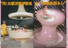 """Living in the Future"" '70 Osaka World Expo Page 1"