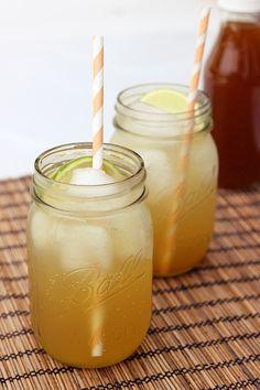 Homemade Ginger Ale - Honey Sweetened - Gluten-free with Vegan option