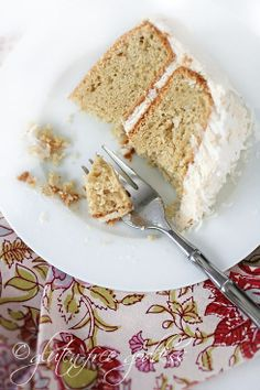 Gluten Free Coconut Cake.