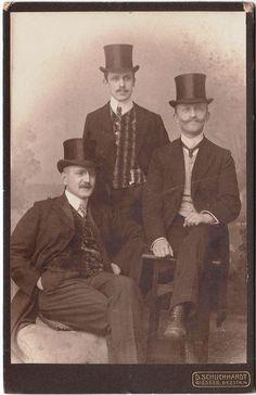 Top hat gents