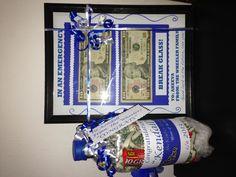 Graduations money gift