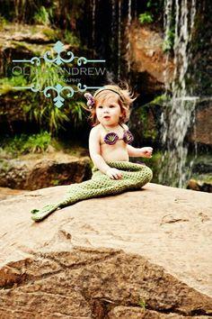 Little Mermaid crochet set Pattern  Boutique7one7 $5.95