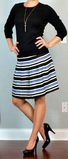 Paired with a neutral, those stripes just pop.