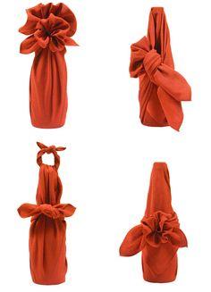 Various Furoshiki Wrap styles 2