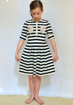 top pattern, kensington dress